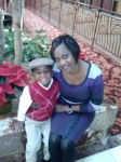 Tammy (Toodle) Hall and grandson Landon Tyson