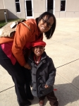 Taquanna Hall and her nephew Landon Tyson